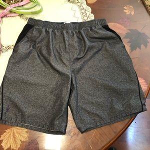 Men's swimming trunks gray charcoal